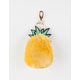 Pom Pineapple Keychain Bag Charm