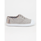 TOMS Toddlers Speckle Chambray Zuma Sneakers