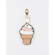 Ice Cream Keychain Bag Charm