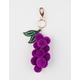 Pom Grape Keychain Bag Charm