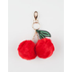 Pom Cherry Keychain Bag Charm