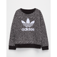 ADIDAS Trefoil Heart Girls Sweatshirt