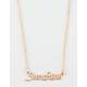 FULL TILT Sunshine Script Necklace