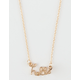 FULL TILT Hello Script Necklace