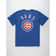 VANS x MLB Chicago Cubs All City Mens T-Shirt