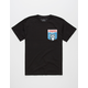 RIOT SOCIETY Paws Boys Pocket Tee