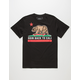RIOT SOCIETY Skate Back To Cali Mens T-Shirt