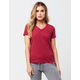 ELEMENT Anna Womens V-Neck Tee