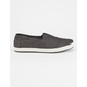 TOMS Black Chambray Mens Avalon Slip-Ons