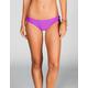 DAMSEL Solid Cinched Bikini Bottom
