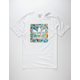 ADIDAS Blackbird Toucan Mens T-Shirt