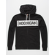 HOONIGAN Censor Bar Mens Zip Hoodie