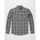 RSQ Collective Gridwork Mens Flannel Shirt