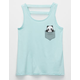 FULL TILT Pocket Panda Girls Tank