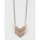 FULL TILT Chevron Pendant Necklace