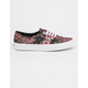 VANS Moody Floral Womens Authentic Shoes