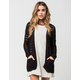 FULL TILT Essential Womens Boho Cardigan