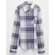 FULL TILT Boyfriend Girls Plaid Shirt