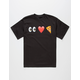 Eye Heart Pizza Boys T-Shirt