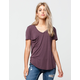 OTHERS FOLLOW Slouch Pocket Womens V-Neck Tee