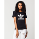 ADIDAS Fitted Trefoil Womens Tee