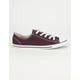 CONVERSE Chuck Taylor All Star Dainty Low Womens Shoes