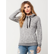 FULL TILT Essential Marled Cowl Neck Womens Hoodie