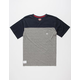 FOURSTAR Yoke Mens Pocket Tee
