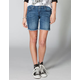 VOLCOM Night Walks Womens Denim Bermuda Shorts