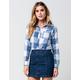 FULL TILT Buffalo Womens Flannel Shirt