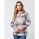 FULL TILT Make Me Blush Womens Flannel Shirt