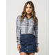 FULL TILT Picnic Plaid Womens Shirt