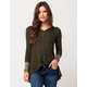 OTHERS FOLLOW Hannah Womens Thermal Shirt