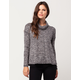 OTHERS FOLLOW Cowl Neck Womens Sweater