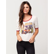 VOLCOM Next Time Womens Ringer Tee