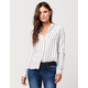 FULL TILT Striped Womens Shirt