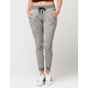FULL TILT Essential Marled French Terry Womens Jogger Pants