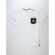 ADIDAS Clima Crystal Mens Pocket Tee