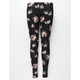 FULL TILT Spaced Floral Girls Leggings