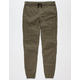 EAST POINTE Moto Boys Twill Jogger Pants