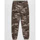 HOLLYWOOD Camo Ripstop Boys Jogger Pants