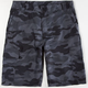 SUBCULTURE Camo Mens Hybrid Shorts