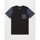 BLUE CROWN Anchors Boys Pocket Tee