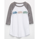 FULL TILT California Bear Girls Raglan Tee