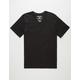 HURLEY Staple V-Neck Mens T-Shirt