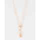 FULL TILT 2 Layer Lock And Key Necklace