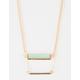 FULL TILT 2 Layer Double Bar Necklace
