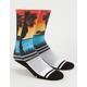 LEGENDS Dana Point Rainbow Mens Socks