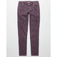 SCISSOR Destructed Girls Skinny Jeans
