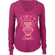 HURLEY Diamonds Aren't Forever Womens Hooded Thermal